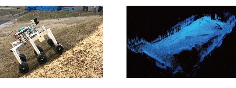 山林環境計測ロボット