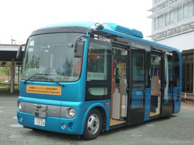 自動運転バス技術実験について報道機関向け説明会とワークショップを開催しました!